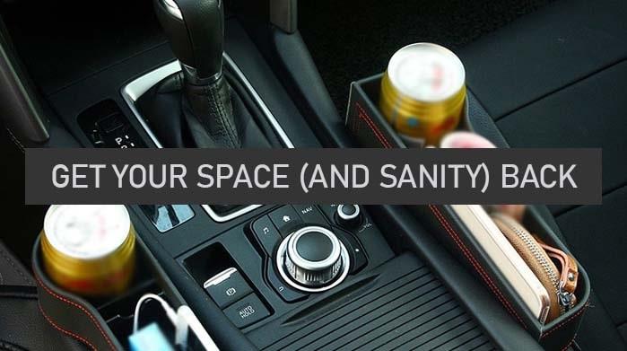 Multifunctional Car Seat Organizer 8