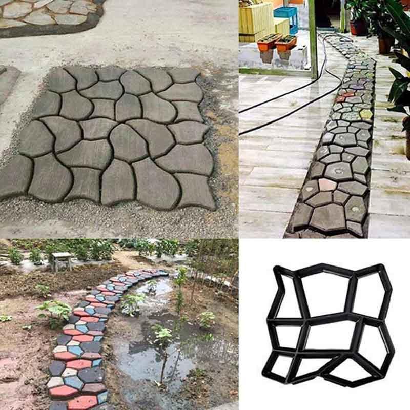 DIY Path Maker Mold 4