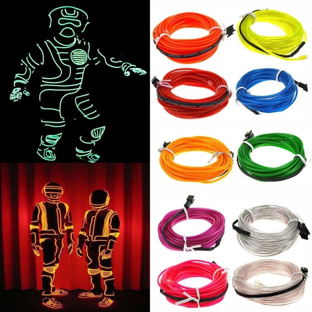 Light Up Stick Figure Costume Kit