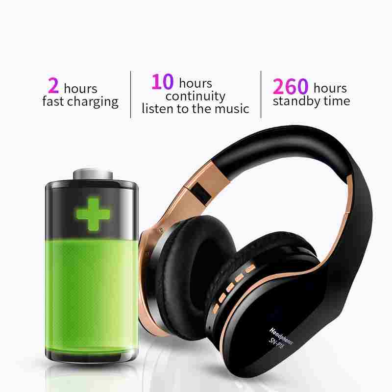 Wireless Foldable Headphones